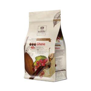 Cacao Barry - GHANA - Ciocolată cu lapte PREMIUM 40,5%