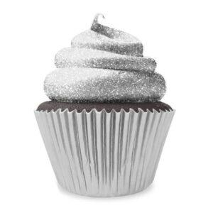 Sclipici decorativ comestibil - Argintiu