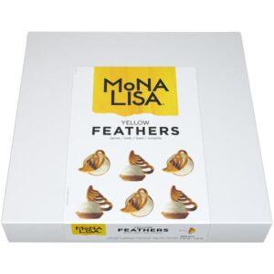 BARRY CALLEBAUT - Mona Lisa - Yellow Feathers