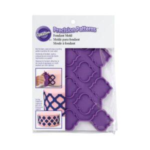 Wilton - Mulaj icing tort - Patterns Trellis