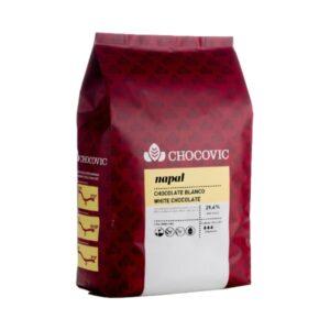 Chocovic - Ciocolată albă NAPAL - cacao 29,6%