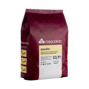 Chocovic - Ciocolată neagră QUADOR - cacao 53,9%
