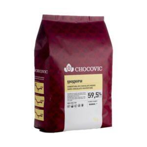 Chocovic - Ciocolată neagră YAGARA - cacao 59,5%