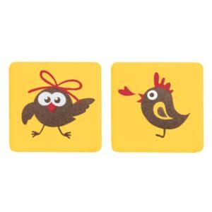 Barbara Decor - Decorațiuni din ciocolată - Yellow Chicks