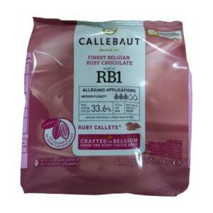 BARRY CALLEBAUT - Ciocolată RUBY - dropsuri, cacao 33,6%