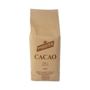 Van Houten - Cacao pudră alcalinizată, grăsime 22-24% - Roșu brun